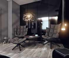 "LCD ""Moscow"" Bachelor Apartment by Angelina Alexeeva 