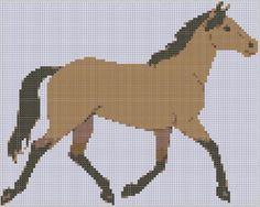 Horse 9 Cross Stitch Pattern | Craftsy