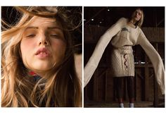 avery tharp by anna alek for grit magazine! | visual optimism; fashion editorials, shows, campaigns & more!
