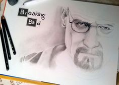 Walter White - Work in progress #drawing #drawinginpencil #drawingsbyme #draw #portrait #pencil #art #artist #sketch #illustration #pen #drawinginpencil #walterwhite #breakingbad
