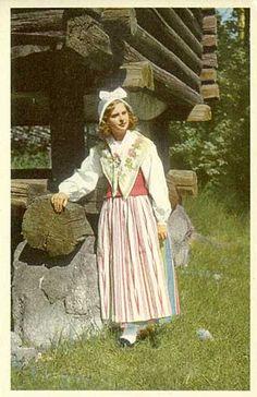 Östervallskog, Värmland. Folk Costume, Costumes, Sweden, Scandinavian, All Things, Ethnic, Culture, Disney Princess, Folklore