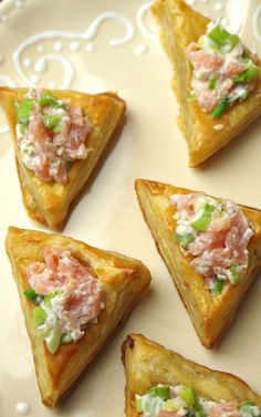 Smoked Salmon Horseradish Hamantashen // Joy of Kosher