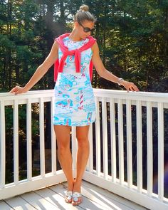 I See the Light: Lilly Pulitzer Dress and Jack Roger Sandals