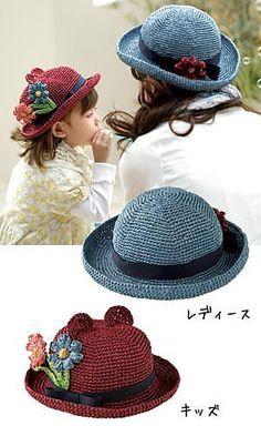 75b5325df29 Fairy Tale Hat pattern by Pierrot (Gosyo Co.