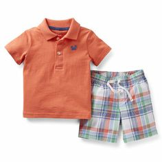 2-Piece Polo and Short Set