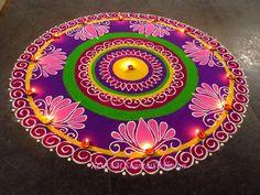 My Entertainment Rocks: Beautiful Rangoli Design For Diwali Easy Rangoli Designs Diwali, Rangoli Simple, Indian Rangoli Designs, Rangoli Designs Latest, Simple Rangoli Designs Images, Rangoli Designs Flower, Free Hand Rangoli Design, Rangoli Border Designs, Small Rangoli Design