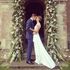 Millie Mackintosh Marries Professor Green In Vintage Lace Dress And Christian Louboutins | Grazia Fashion