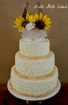 Country Wedding cake!