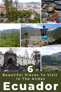 Discover the most beautiful travel destinations in Ecuador's Andes Mountain Region for culture travel, outdoor adventures, and budget travel in South America