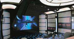 STAR TREK Home Theater Boldly Goes to New Levels of Awesome - News - GeekTyrant