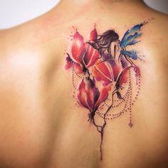 Veja nossa super seleção com 55 fotos de tatuagens de fadas lindas para você se inspirar. Confira!