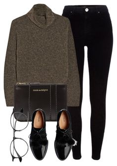 """""""Untitled #6543"""" by laurenmboot ❤ liked on Polyvore featuring River Island, The Row, Comme des Garçons and Ray-Ban"""