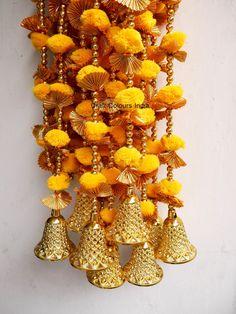 Diwali Decorations, Indian Wedding Decorations, Door Entryway, Backdrops For Parties, Modern Christmas, Traditional Decor, Marigold, Door Hangings, Pink Color