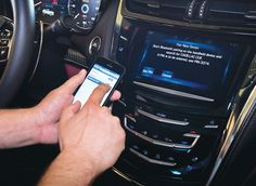 Ways to access programs in cars have been easier.