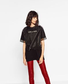 ZARA - WOMAN - LONG TULLE T-SHIRT