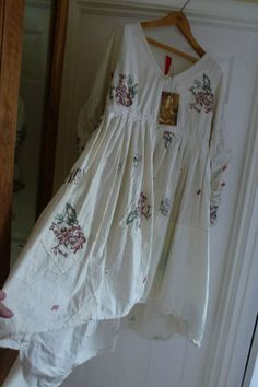 Ewa i Walla stunning peasant/ gypsy/ romantic/ dress
