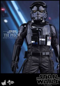 Star Wars: The First Awakens Tie Fighter Pilot Hot Toys Revealed - Cosmic Book News