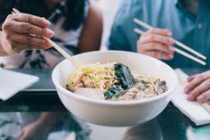 Katie Gardner Photography | Little Italy, San Diego Engagement | Underbelly Restaurant
