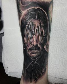Movie john wick back tattoo what do john wick 39 s tattoos for John wicks back tattoo