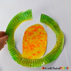 Paper Plate Corn: Easy Harvest Craft for Kids to Make -