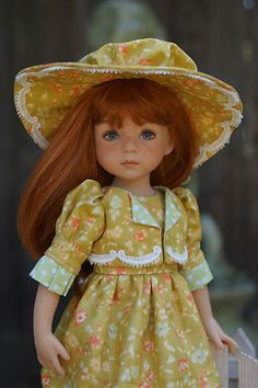 "13"" Effner Little Darling *LITTLE LADY* Ensemble by Ladybugs Doll Designs ~ OOAK"