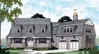 Always my favorite design, the Dutch Colonial....just needs a little barn out back  >:)