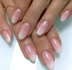 Because it's a sunny day, I want to stick to nails . -You can find Oval nails and more on our website.Because it's a sunny day, I want to stick to nails . Oval Acrylic Nails, Almond Acrylic Nails, Almond Shape Nails, Oval Nail Art, Almond Nails, Natural Looking Acrylic Nails, Natural Gel Nails, Cute Nails, Pretty Nails
