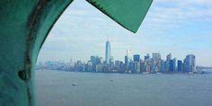 Subir a la corona de la Estatua de la Libertad. Nueva York (EEUU)