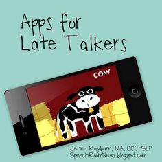 Apps For Late Talking Toddlers including simple cause and effect apps | Technology in (Spl) Education