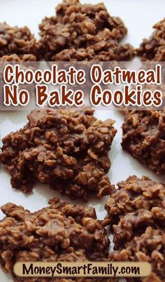 This is an easy no bake chocolate oatmeal cookie that everyone will love!