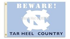 North Carolina Country Flag 3x5 FT 150X90CM NCAA Banner 100D Polyester Custom flag grommets 6038,free shipping