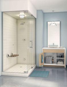 Smallest Bathroom with Shower - Smallest Bathroom with Shower, 21 Unique Modern Bathroom Shower Design Ideas Small Bathroom With Shower, Tiny Bathrooms, Bathroom Design Small, Bathroom Interior Design, Colorful Bathroom, Bathroom Ideas, White Bathroom, Ocean Bathroom, Cozy Bathroom