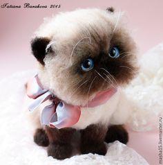 """Купить """"Мишель"""" - котенок, коты и кошки, котик игрушка, котик, игрушка, игрушка в подарок"""