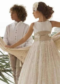 vestidos comunión 2014 rubio kids 1