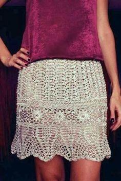 Miss Flor Croche: Saias