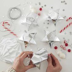 Make your own advent calendar kit stars