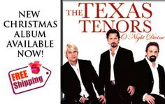 """""""The Texas Tenors""""            John Hagen is a native of Waverly, Iowa."""