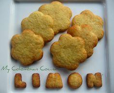 Galletas de Limón Colombia, cocina, receta, recipe, colombian, comida.