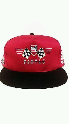Mighty racing part 90 s vintage mens adjustible snapback Snapback Hats 135350e80dcc