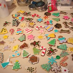 Christmas Cookie Bliss: 1st Christmas cookie decorating party