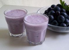 Enjoyed! Purple Grape Smoothie - One cup grapes (half frozen), 1/2 cup Greek yogurt, 1/2 cup soy or vanilla almond milk (also good with spoon of peanut butter)
