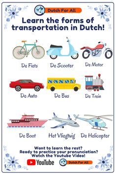 Danish Language Learning, Dutch Language, Dutch Phrases, Dutch Words, Mickey Coloring Pages, Learn Dutch, Language Lessons, Adhesive Wallpaper, More Words