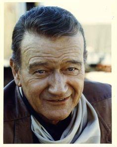 Photo in color John Wayne, Classic Hollywood, Old Hollywood, Western Comics, Actor John, Westerns, True Grit, Best Actor, Duke