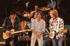 Bruce, Jackson Browne, Tom Petty. x