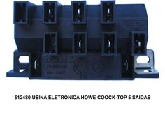 512480 USINA ELETRONICA HOWE COOCK-TOP 5 SAIDAS