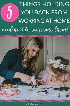 The top 5 things holding you back from launching your freelance business and how to overcome them! Work From Home Business, Work From Home Moms, Online Business, Business Tips, Earn Money From Home, Earn Money Online, Earning Money, Virtual Assistant Services, Gentle Parenting