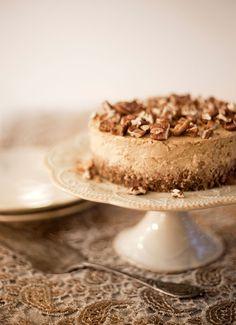 Orange-Infused Pumpkin Cheesecake #glutenfree #vegan #dairyfree #eggfree Pure Ella | www.pureella.com