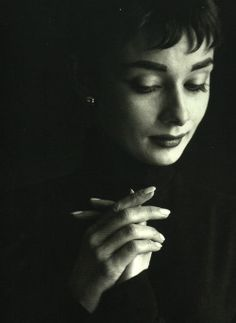 Audrey Hepburn photographed by Cecil Beaton, 1954.