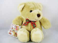 Hug-A-Plush-Stuffed-Teddy-Bear-Light-Brown-8-034-Sitting-From-Commonwealth-Toys  ..... Visit all of our online locations..... www.stores.ebay.com/ourfamilygeneralstore ..... www.bonanza.com/booths/Family_General_Store ..... www.facebook.com/OurFamilyGeneralStore