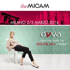 Non Mancare!Ti aspettiamo alla fiera MICAM 2014 di MILANO! #onlydyva #scarpedyva #thebestdyva #micam2014 #Milano